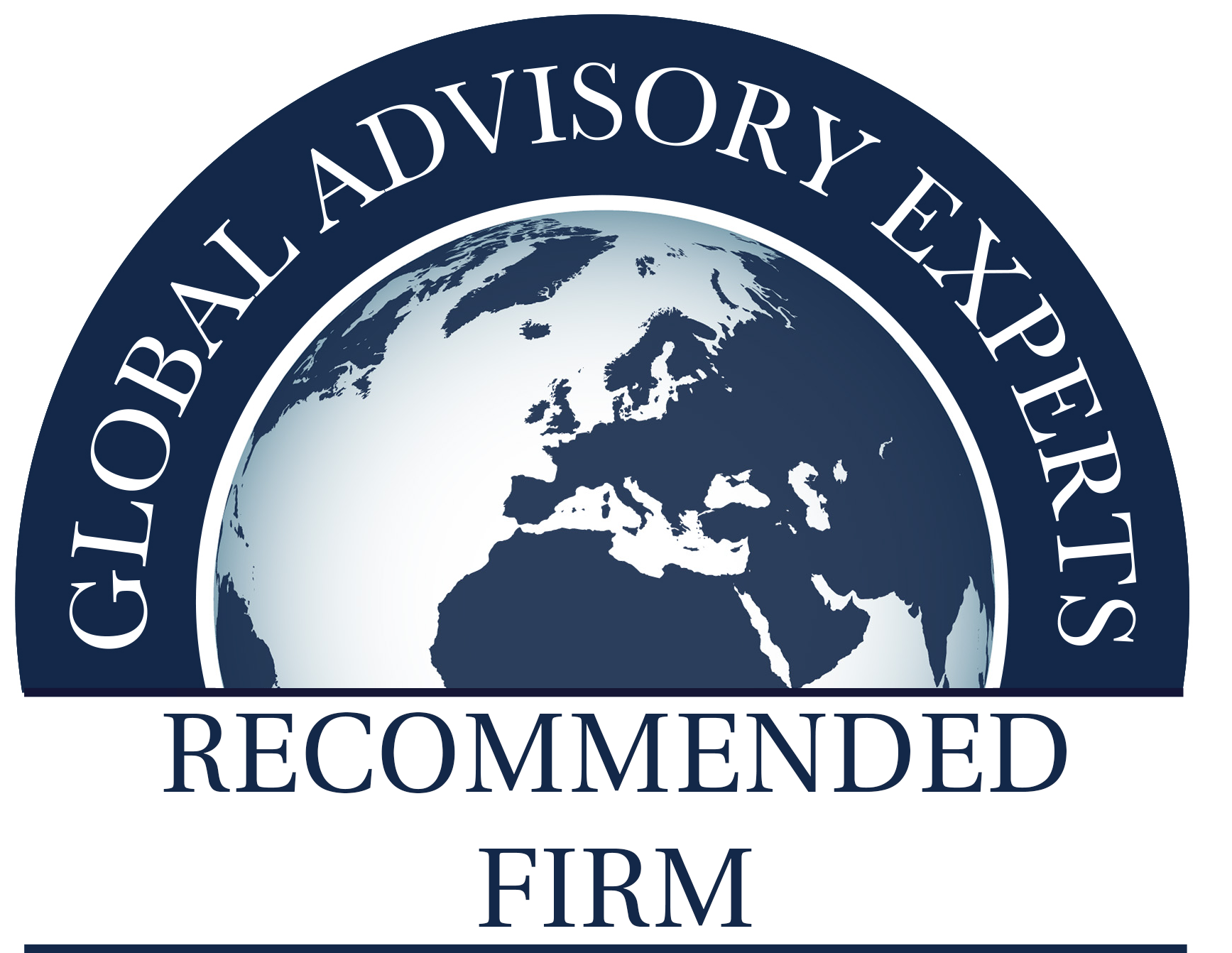 GLOBAL ADVISORY EXPERTS RECOMMENDED FIRM