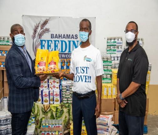 CFAL Donates $6,000 Food Donation to Bahamas Feeding Network